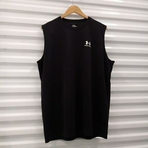 Under Armour Fitted Tank Top Shirt Size XLarge